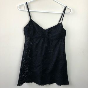 Wilfred Aritzia Size M Bustier Floral Mesh Tank